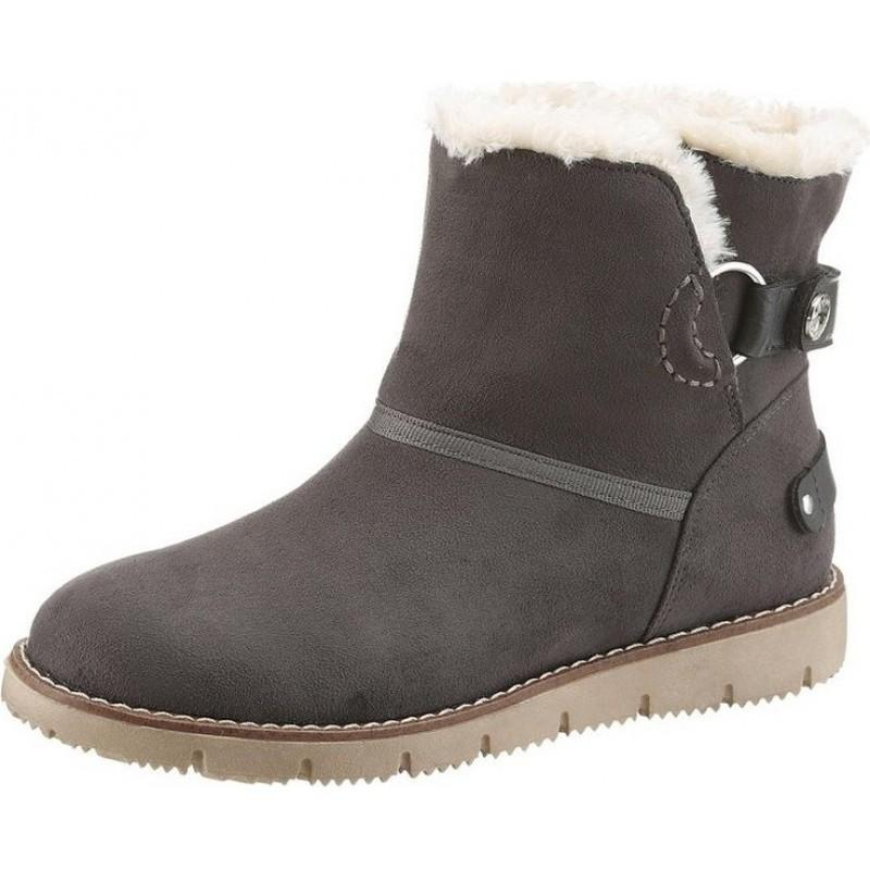 tom tailor damen schuhe stiefeletten winterboots. Black Bedroom Furniture Sets. Home Design Ideas